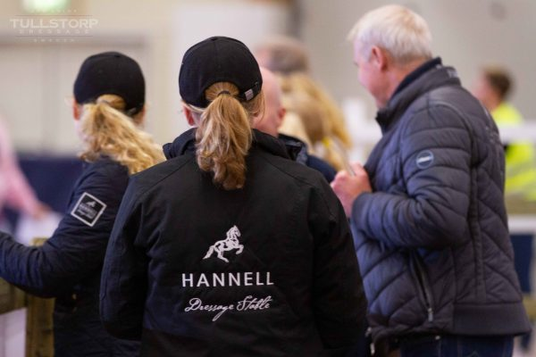 Jan with the Hannell Dressage team