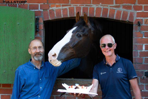 Briar with Jan Brink and owner/breeder Hans-Yngve Göransson
